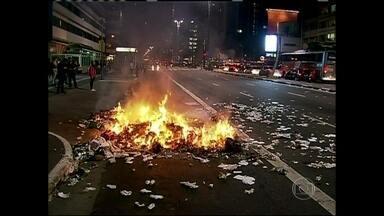 Fátima comenta protestos contra aumento das passagens de ônibus - Manifestantes e policiais entraram em confronto no Rio e em São Paulo