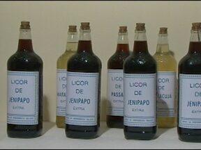 Seca prejudica fabricação de produtos com jenipapo em Feira de Santana - O licor de jenipapo, um dos mais tradicionais dos festejos juninos, também foi afetado.