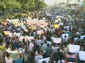 Manifestação em Feira de Santana reúne milhares de pessoas na última quinta - Na região de Feira, também houve protestos em Alagoinhas e Itaberaba.