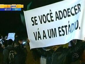 Manifestações aconteceram em cidades da fronteira oeste do RS - Itaquí e Alegrete registraram protestos pacíficos na noite desta quinta-feira.