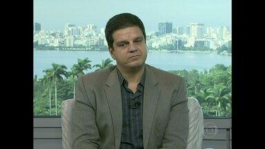 Rodrigo Pimentel diz que policiais têm frieza para agir - Ele garante que a polícia não vai disparar arma letal