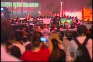 Manifestação reúne centenas em Mogi das Cruzes - Uma manifestação reuniu centenas de pessoas em Mogi das Cruzes nesta quinta-feira (20). A principal reivindicação foi o valor da tarifa de ônibus.