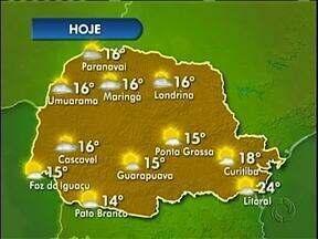 Sol continua nesta tarde de sábado - Amanhã vai fazer frio.