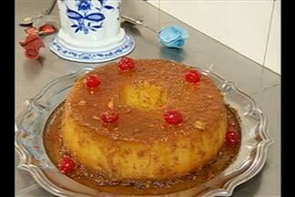 Aprenda a fazer pudim de macaxeira para as festas juninas - Receita é prática e original e combina com a culinária de São João.