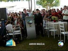 Mais de quatro mil pessoas participaram do Integração no Bairro neste sábado em Uberlândia - Várias atividades estão foram realizadas no Bairro Jardim Brasília. Casamento comunitário contou com a participação de 58 casais.