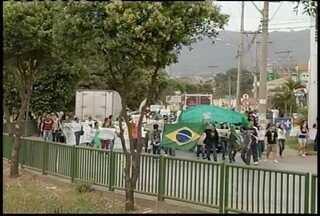 Sábado é marcado por manifestações em Minas Gerais - De forma geral protestos aconteceram de forma pacífica