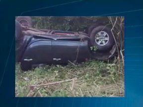 Acidente na estrada de União deixa dois feridos neste sábado - Acidente na estrada de União deixa dois feridos neste sábado