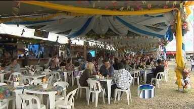 Cortejo de carros de bois completa 80 anos em Caçapava (SP) - Evento realizado neste sábado (22) faz parte da Festa de São João.