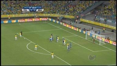 Seleção brasileira vence a Itália pela Copa das Confederações - Torcedores de Ribeirão Preto vibraram com vitória por 4 a 2.