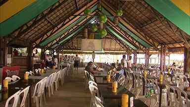 Donos de restaurantes comemoram o bom movimento em bares de Fortaleza - Aumento chega aos 30% nos restaurantes.