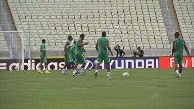 Nigéria e Espanha treinam na Arena Castelão - Partida acontece as 16 horas em Fortaleza.