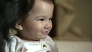 Filho de Gabriela nasceu no mesmo dia da estreia do Encontro - Mãe conta o que mudou na vida dela durante esse um ano