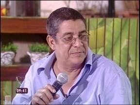 Ana Maria 'entrega' o que cozinheira falou sobre Zeca Pagodinho - 'Sou um chato, né?', brinca o sambista