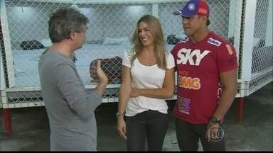 Serginho Groisman visita a academia de Vitor Belfort - Lutador fala sobre seu treinamento, família e sua próxima luta