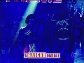 Direto de Belém do Pará! Gang do Eletro canta 'Galera da Lage' - De roupa neon grupo mostra o som das aparelhagens de tecnobrega