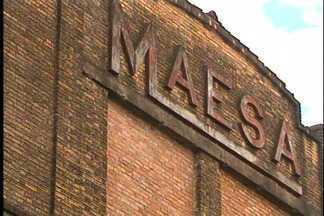 Ato Público pediu tombamento de prédio histórico em Caxias do Sul - Comunidade pede o tombamento do prédio da antiga fábrica da Maesa. A intenção seria transformá-lo em espaço cultural.