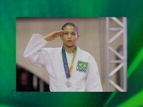 Sarah Menezes treina para participar de novo campeonato de Judô - Sarah Menezes treina para participar de novo campeonato de Judô