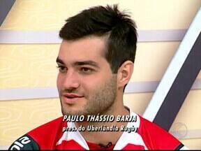 Uberlândia vence Taurus e conquista título inédito no Mineiro de Rúgbi - Finais do Campeonato Mineiro foram realizadas no fim de semana em Belo Horizonte. Uberlandenses ficaram com terceiro lugar e levaram Taça Prata