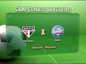 Equipe do Vitória deve torcer por empate entre São Paulo e Bahia nesta quarta - Para conquistar uma folga na classificação do Brasileirão, os próximos adversários do Rubro-Negro precisam empatar.