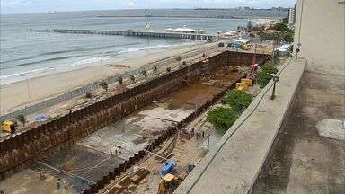 Ministério Público pede novamente suspensão das obras do Acquario Ocêanico - Obra está avaliada em cerca de R$ 500 milhões.