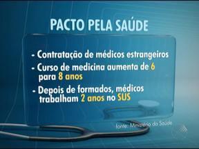 Médicos baianos ameaçam entrar na justiça contra medidas do Pacto pela Saúde - O Conselho Regional de Medicina da Bahia, o sindicato dos médicos e a Associação Bahiana de Medicina fizeram duras críticas às medidas do pacto anunciado pelo governo federal.