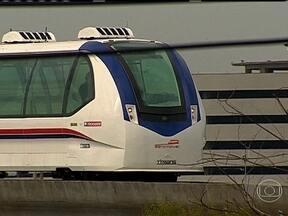 Inventor brasileiro cria transporte urbano movido somente a ar - Aeromóvel, que liga o aeroporto a estação de trens urbanos de Porto Alegre, estreia neste 2º semestre.