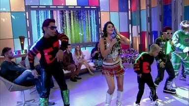 Marlon Branco, Lady Green e Equipe Treme animam a plateia - Diretamente do Pará, banda interpreta hit divertido