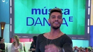 Lucas Lucco canta o hit 'Plano B' - Sertanejo agita o Encontro com sua música de sucesso