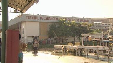 Pescadores de Manaus voltam a reclamar de falta de uso de terminal pesqueiro - Obra foi concluída mas nunca chegou a ser entregue para os pescadores devido a impasse.