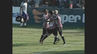 Veja os gols do empate entre Águia-PA e Santa Cruz em Marabá - Placar ficou em 1 a 1