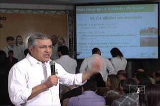 Ministro da Saúde, Alexandre Padilha, vem a São Luís para lançar o programa 'Mais Médicos' - Ele foi recebido com protesto da classe médica, que é contra a vinda de médicos estrangeiros para suprir as necessidades das cidades do interior do Brasil.