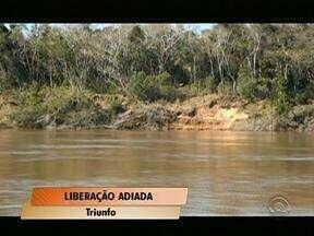 Adiada a liberação total das dragas que extraem areia do Rio Jacuí - Uma nova inspeção deve acontecer na quinta-feira.