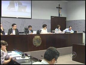 Primeira sessão na Câmara de Araçatuba, SP, após o recesso é pouco produtiva - A primeira sessão na Câmara de Araçatuba (SP), realizada nesta segunda-feira (5), depois do recesso foi pouco produtiva. Os vereadores votaram apenas um veto e um dos 22 projetos que estavam em pauta.