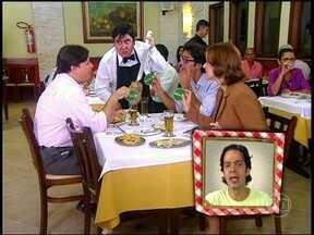 Reveja Cilada com Bruno Mazzeo numa churrascaria em dia de domngo - Reveja Cilada com Bruno Mazzeo numa churrascaria em dia de domngo