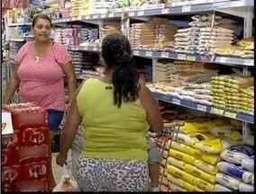 Redução do ICMS já é sentido no supermercado - Vários produtos da cesta básica apresentaram redução.