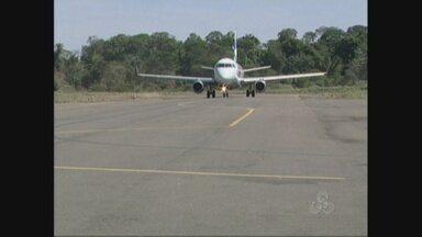 Aeroporto de Cacoal, RO, começa a operar com apenas um voo diário - Voo segue apenas para Cuiabá (MT). Quem precisa seguir para Porto Velho deve buscar outros meios.