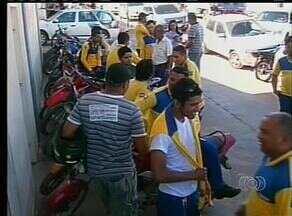 Funcionários dos correios em Araguaína, fizeram greve nesta terça-feira (6) - Funcionários dos correios em Araguaína, fizeram greve nesta terça-feira (6)