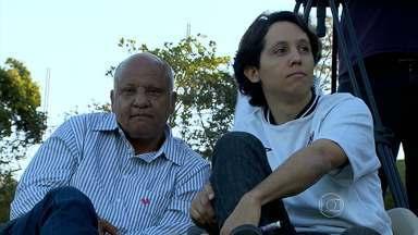 Atlético-MG recebe forcinha do ex-jogador Reinaldo - O 'rei' acompanhou o treino do time.