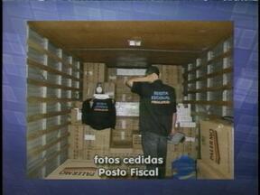 Milhares de carteiras de cigarro foram apreendidas pela polícia - Mercadoria era contrabandeada.