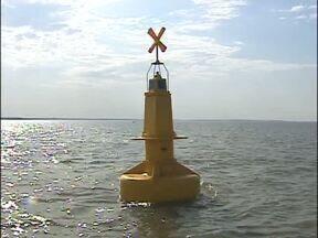 Hidrelétrica de Itaipu instala sistema de segurança perto da barragem - O trabalho termina na sexta-feira.