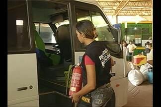 Procon, Detran e Arcon fiscalizam terminal rodoviário de Marabá - Passageiros e condições de segurança foram alvo da vistoria.