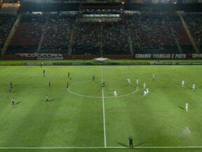 Vitória empata com o Fluminense no Barradão e entra no G4 - O rubro-negro abriu o marcador, mas não resistiu às investidas do tricolor carioca.