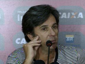 Técnico Caio Júnior comenta sobre a atuação do goleiro Wilson - O atleta vinha fazendo uma partida irretocável, até que falhou no lance do gol de empate do Fluminense.