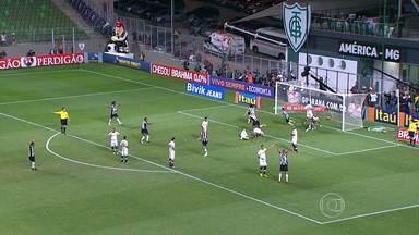 Atlético-MG arranca empate no fim do jogo contra o Botafogo - Luan fez o gol já nos acréscimos.