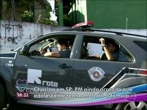 Em São Paulo, PM ainda acredita que menor tenha matado a família - Repórter vai até a rua do crime que chocou o país, em Brasilândia, São Paulo