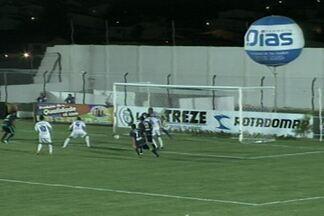 Treze quebra jejum e vence o Águia de Marabá pela série C do Campeonato Brasileiro - Vitória do Treze foi importante, apesar do time ainda não ter saído da zona de rebaixamento.