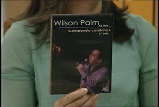 Wilson Paim lança novo CD/DVD em Santa Maria - A sessão de autógrafos é hoje a tarde.