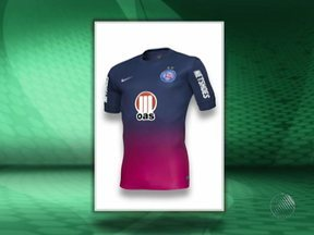 Bahia divulga imagens do novo uniforme número três - A data de estreia da nova camisa ainda não foi divulgada.