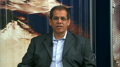 Secretário fala sobre andamento das obras da Copa em Cuiabá - O secretário da Copa, Maurício Guimarães, esteve ao vivo no Bom Dia Mato Grosso para falar sobre o andamento das obras para a Copa na capital.