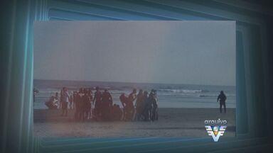 Audiência do caso Grazielly está marcada para a tarde desta terça-feira (20) em Bertioga - Grazielly morreu após ser atingida por uma moto aquática quando brincava na areia da praia
